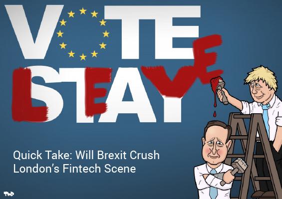 Quick Take: Will Brexit Crush London's Fintech Scene?