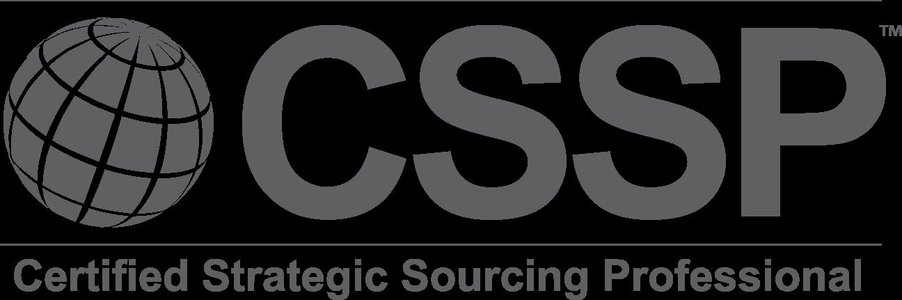 cssp sourcing strategic professional excellence designation distinguishes practices industry